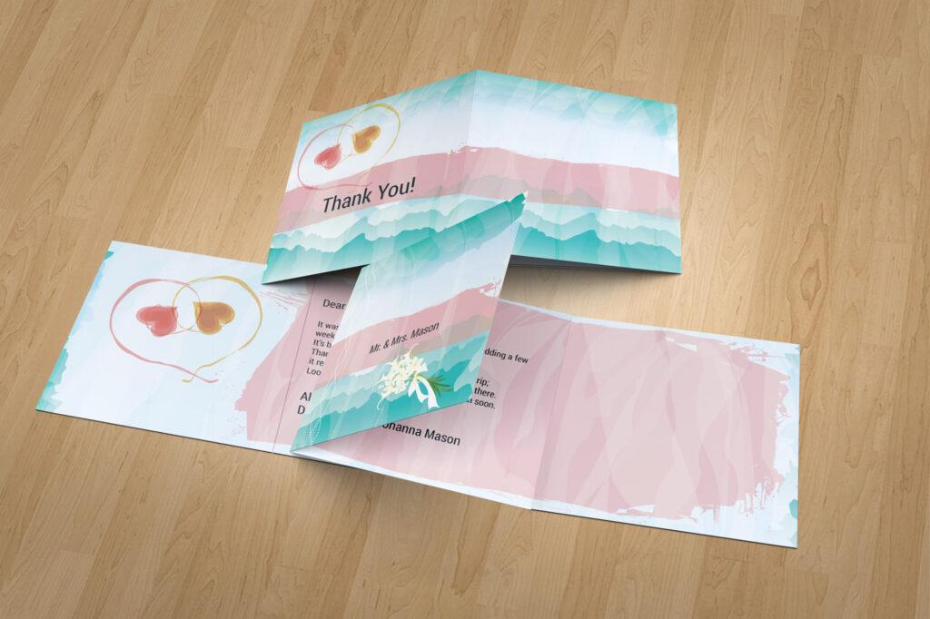 Kartenset zur Hochzeit