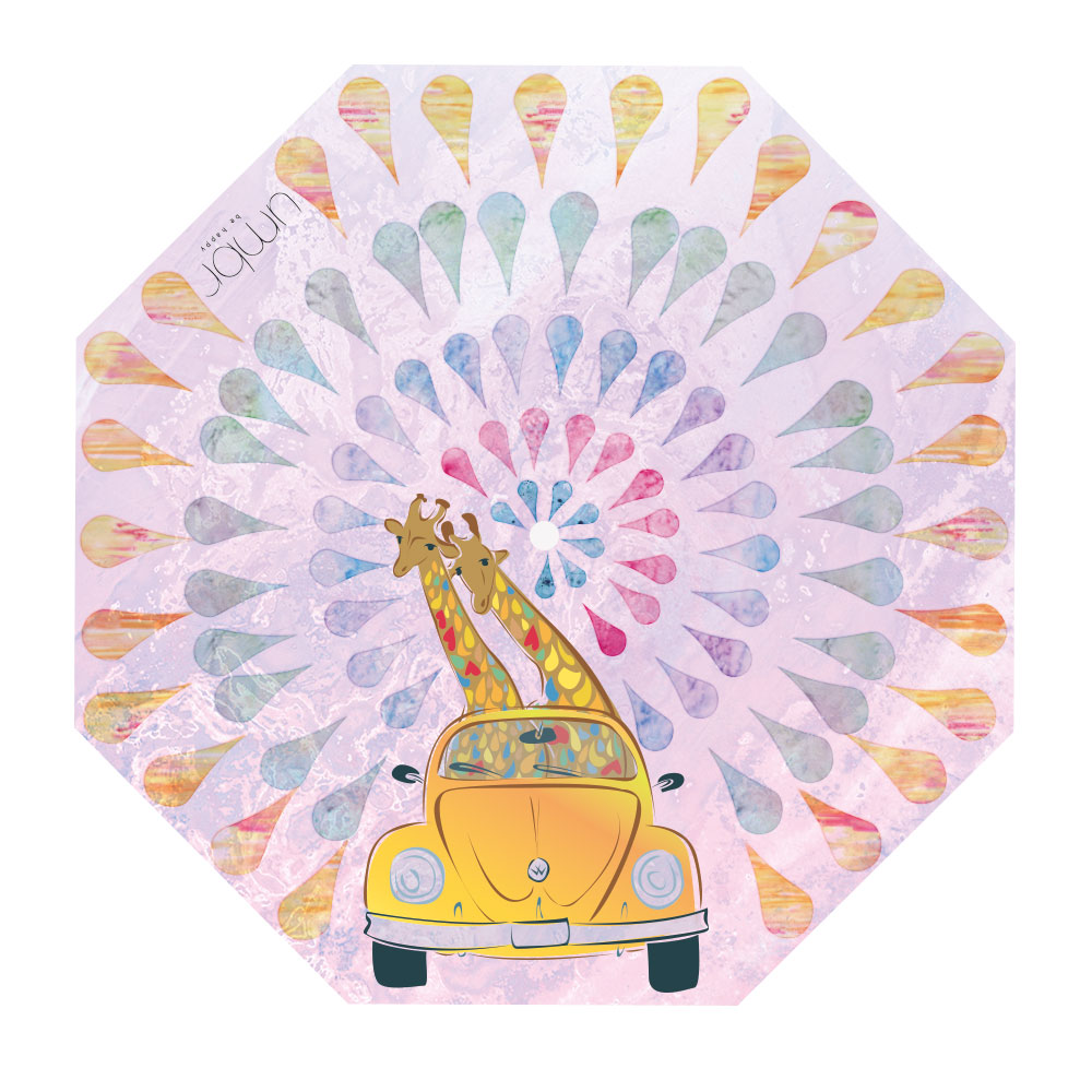 Illustration für Regenschirm